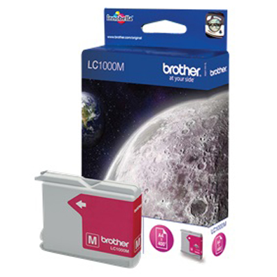 Genuine Brother LC1000 Magenta Ink Cartridge (LC-1000MOEM)