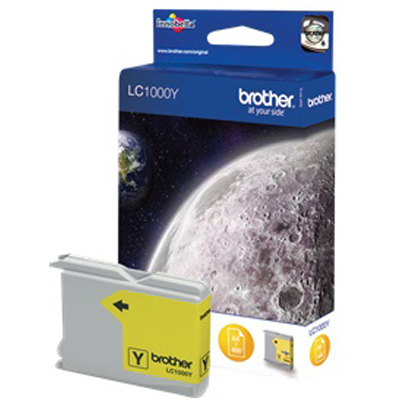 Genuine Brother LC1000 Yellow Ink Cartridge (LC-1000YOEM)