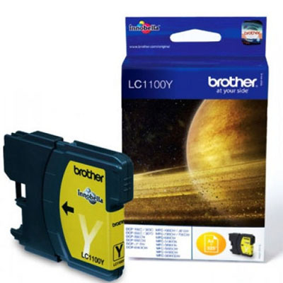 Genuine Brother LC1100 Yellow Ink Cartridge (LC-1100MOEM)
