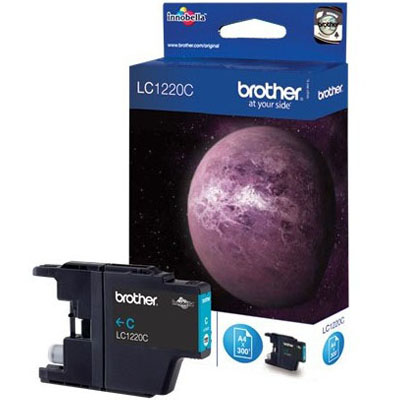 Genuine Brother LC1220C Cyan Ink Cartridge (LC-1220COEM)