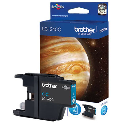 Genuine Brother LC1240C Cyan Ink Cartridge (LC-1240COEM)