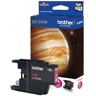 Genuine Brother LC1240M Magenta Ink Cartridge (LC-1240MOEM)