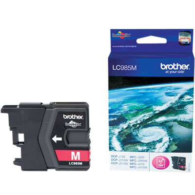 Genuine Brother LC985M Magenta Ink Cartridge (LC-985MOEM)