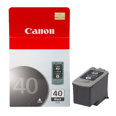 Genuine Canon PG-40 Black Ink Cartridge (PG40BKOEM)