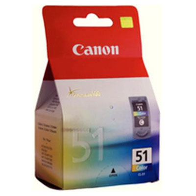 Genuine Canon CL-51 Colour Ink Cartridge (CL51CLROEM)