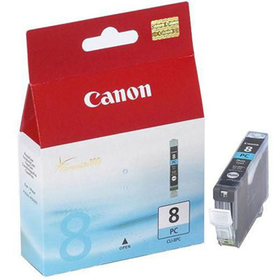 Genuine Canon CLI-8 Photo Cyan Ink Cartridge (CLI8PCOEM)