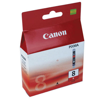 Genuine Canon CLI-8 Red Ink Cartridge (CLI8ROEM)