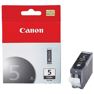 Genuine Canon PGI-5 Black Ink Cartridge (PGI5BKOEM)