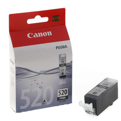 Genuine Canon PGI-520 Black Ink Cartridge (PGI520BKOEM)