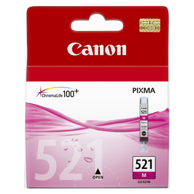 Genuine Canon CLI-521 Magenta Ink Cartridge (CLI521MOEM)