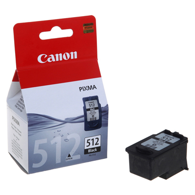 Genuine Canon PG-512 Black Ink Cartridge (PG512BKOEM)