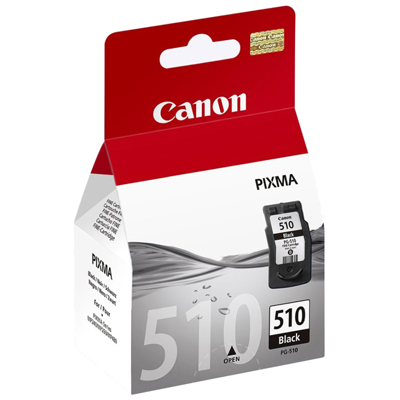 Genuine Canon PG-510 Black Ink Cartridge (PG510BKOEM)