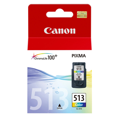 Genuine Canon CL-513 Colour Ink Cartridge (CL513CLROEM)
