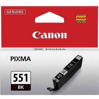 Genuine Canon CLI-551 Photo Black Ink Cartridge (CLI551PBKOEM)