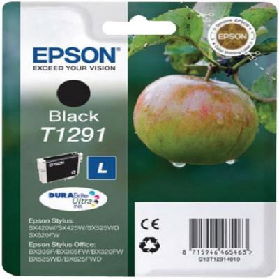 Genuine Epson C13T12914012 Black Ink Cartridge (T1291BKOEM)