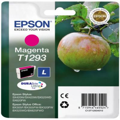 Genuine Epson C13T12934012 Magenta Ink Cartridge (T1293MOEM)