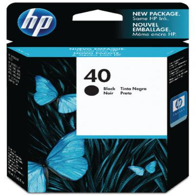 Genuine HP 51640AE (#40) Black Ink Cartridge (HP40BKOEM)