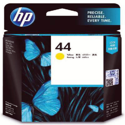 Genuine HP 51644Y (#44) Yellow Ink Cartridge (HP44YOEM)