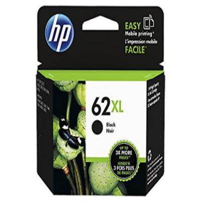 Genuine HP C2P05AE (#62XL) Black High Capacity Ink Cartridge (HP62XLBKOEM)
