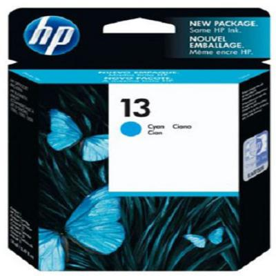 Genuine HP C4815AE (#13) Cyan Ink Cartridge (HP13COEM)