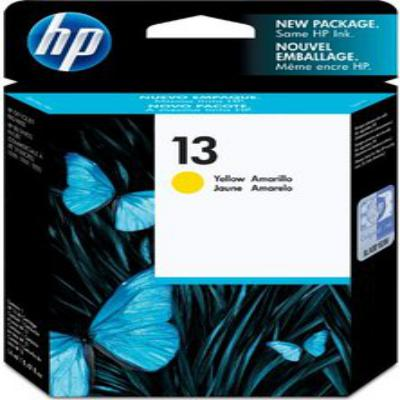 Genuine HP C4817AE (#13) Yellow Ink Cartridge (HP13YOEM)