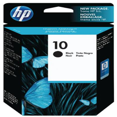 Genuine HP C4844AE (#10) Black Ink Cartridge (HP10BKOEM)