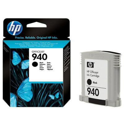 Genuine HP C4902AE (#940) Black Ink Cartridge (HP940BKOEM)
