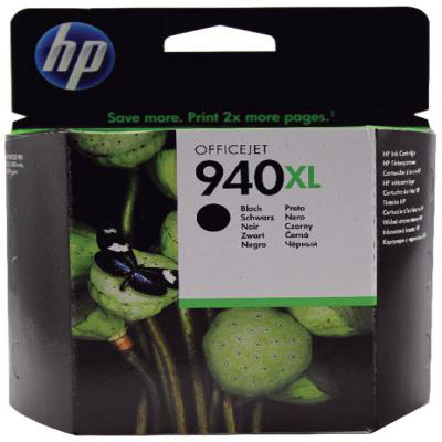 Genuine HP C4906AE (#940H) Black High Capacity Ink Cartridge (HP940XLBKHOEM)