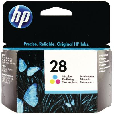 Genuine HP C8728AE (#28) Tri-Colour Ink Cartridge (HP28CLROEM)