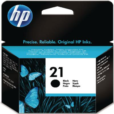 Genuine HP C9351AE (#21) Black Ink Cartridge (HP21BKOEM)