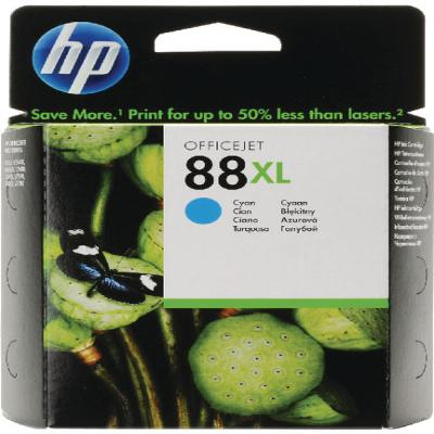 Genuine HP C9391AE (#88H) Cyan High Capacity Ink Cartridge (HP88CHOEM)