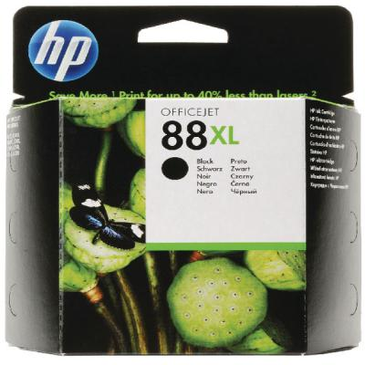 Genuine HP C9396AE (#88H) Black High Capacity Ink Cartridge (HP88BKHOEM)