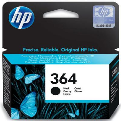 Genuine HP CB316EE (#364) Black Ink Cartridge (HP364BKOEM)