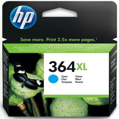 Genuine HP CB323EE (#364H) Cyan High Capacity Ink Cartridge (HP364XLCHOEM)