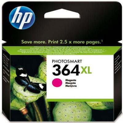 Genuine HP CB324EE (#364H) Magenta High Capacity Ink Cartridge (HP364XLMHOEM)