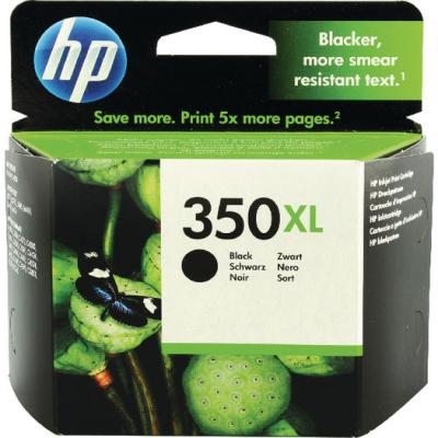 Genuine HP CB336EE (#350H) Black High Capacity Ink Cartridge (HP350BKHOEM)