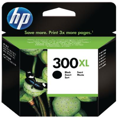Genuine HP CC641EE-UUS (#300H) Black High Capacity Ink Cartridge (HP300XLBKHOEM)