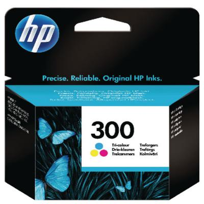 Genuine HP CC643EE-UUS (#300) Tri-Colour Ink Cartridge (HP300CLROEM)