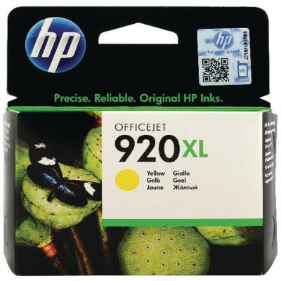 Genuine HP CD974AE (#920H) Yellow High Capacity Ink Cartridge (HP920XLYHOEM)