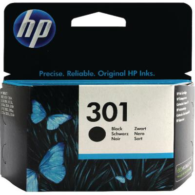 Genuine HP CH561EE (#301) Black Ink Cartridge (HP301BKOEM)