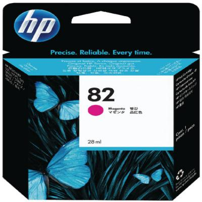 Genuine HP CH566A  (#82) Magenta Ink Cartridge (HP82COEM)