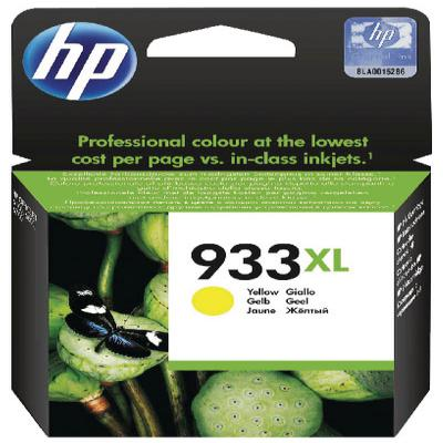 Genuine HP CN056A (#933H) Yellow High Capacity Ink Cartridge (HP933XLYHOEM)