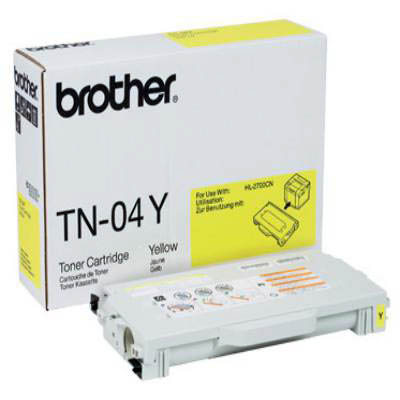 Genuine Brother TN-04Y Yellow Toner Cartridge (TN04YOEM)