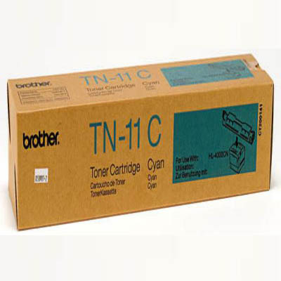 Genuine Brother TN11C Cyan Toner Cartridge (TN11COEM)