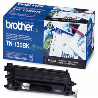 Genuine Brother TN-130BK Black Toner Cartridge (TN130BKOEM)