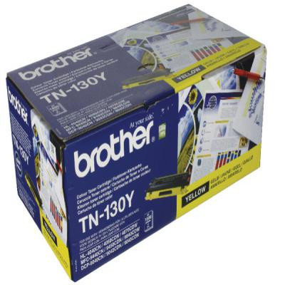 Genuine Brother TN130Y Yellow Toner Cartridge (TN130YOEM)