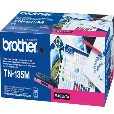 Genuine Brother TN-135M Magenta High Capacity Toner Cartridge (TN135MOEM)
