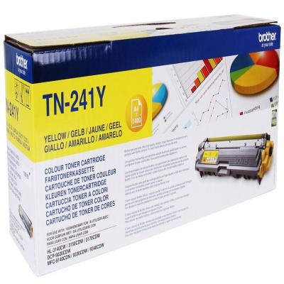 Genuine Brother TN-241Y Yellow Toner Cartridge (TN241YOEM)