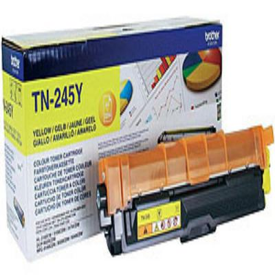 Genuine Brother TN-245Y Yellow High Capacity Toner Cartridge (TN245YOEM)