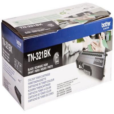 Genuine Brother TN-321BK Black Toner Cartridge (TN321BKOEM)